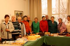 Siebenbürger Kuchenbufett