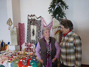 Siebenbürger Frauengruppe: Basar-Verkauf