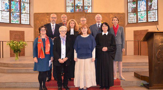 Kirchenvorstand - Amtseinführung am 20. September 2015